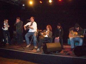 Open Stage in Scheßel with Tom, Holger Sibbe, Stefan Picard, Frufoo da Rudeboy, Micky van Wolfen